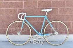 1974 Opaque Blue Schwinn Paramount P14 Vintage Track Bike 21 Campagnolo Beauty