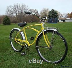 1974 Schwinn Heavy Duti Mens Vintage Cruiser Bicycle Typhoon