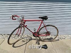 1974 Vintage Schwinn SPRINT Bicycle Opaque Red RARE