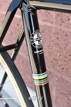 1976 Black Schwinn Paramount P-14 Vintage Track Bike 20 Campagnolo Beauty