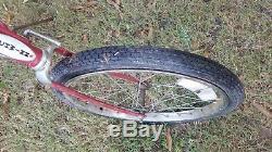 1976 Vintage Schwinn Sting-Ray Bike Red Bicycle FREE SHIP Stingray