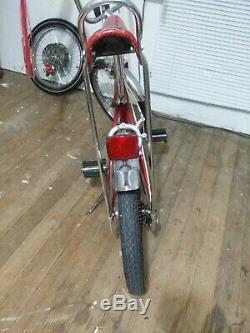 1977 Schwinn Stingray 5-speed 100% Original Muscle Bike Vintage S2 Red Krate 70s