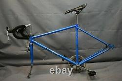1978 Schwinn Traveler Vintage Touring Bike Frame Set 50cm Small Steel US Charity