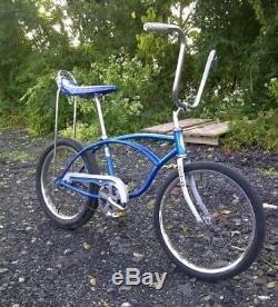 1979 Schwinn Sting Ray Bicycle Vintage Stingray Muscle Bike