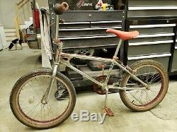 1983 Schwinn Predator BMX bike, all Chrome, Old School Vintage, excellent