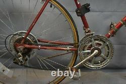 1983 Schwinn Varsity Vintage Touring Road Bike 55cm Medium Red Steel USA Charity