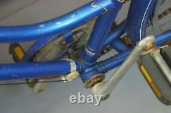 1985 Schwinn Collegiate Vintage Cruiser Bike X-Small 43cm SS Steel USA Charity
