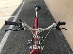 1986 Red Schwinn Cimarron Vintage MTB Bike Tange Suntour Shimano XT Araya RM-25
