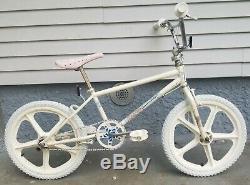1986 Schwinn Predator Free Form EX BMX Bike Freestyle Old School Vintage 1985