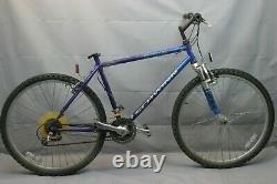 1994 Schwinn Badlands Vintage MTB Bike Large 19 Hardtail Canti Steel US Charity