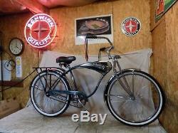 1995 Schwinn Cruiser Classic Mens Tank Bike Vintage B6 Phantom Bicycle+springer
