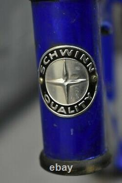1998 Schwinn Frontier Vintage MTB Bike Frame Medium 17 Hardtail Steel Charity