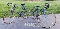 2 Matching Vintage 1979 Schwinn 10 Speed Bicycles