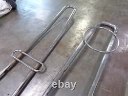 2 Vintage Muscle Bike Tall Sissy Bars 48 (COOL) Schwinn stingray Huffy Rail