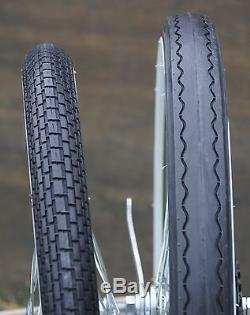 20 Muscle Bike WhiteWall TIRES Brick & Slick Vintage Schwinn Stingray Bicycle