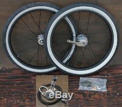 20 Stingray Bike Stick Shifter WHEELS 3 Speed Hub Tires Vintage Schwinn Bicycle