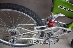 21 Schwinn S Vintage carbon fiber mountain bike, Mint