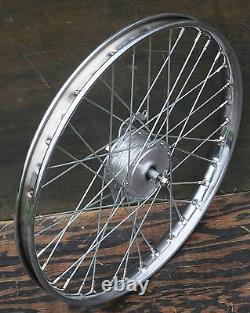 24 Chopper Cruiser Bicycle Front WHEEL Drum Brake Hub Vintage Schwinn Bike Atom