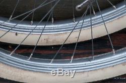26 Prewar Bicycle WHEELS Tires NewDeparture Hub Vintage Roadmaster Schwinn Bike