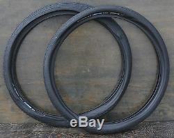 26x2.35 Black Schwalbe FF Naked Cruiser Bicycle Tires Vintage Schwinn Tank Bike