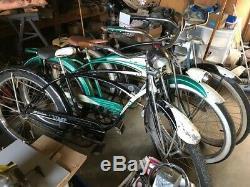 3 Old SCHWINN Bikes PANTHER MENS STRAIGHT BAR TANK VINTAGE HORNET PHANTOM S2