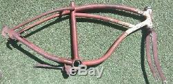 50s Schwinn DX Spitfire 20 Frame original ratrod Mini Klunker Pit Bike vintage