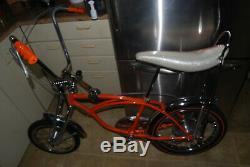 60's Vintage Krate Custom theme of bike is dual drum Atom brakes