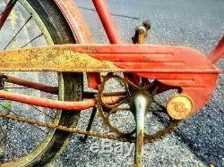 Antique BF Goodrich Ballon Tire 26 Cruiser Bicycle Bike Pre War 1940s Vintage