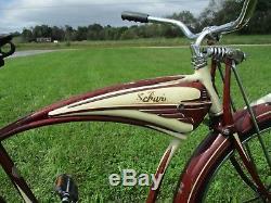 Antique vintage balloon tire schwinn B6 bicycle
