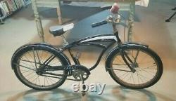 BARN FIND! 1965 Schwinn Fleet Tank Bike- 20- Vintage