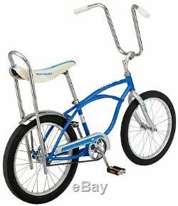 CLASSIC Schwinn Blue StingRay Vintage Retro BIKE Banana Seat NEW in BOX