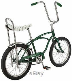 CLASSIC Schwinn Green StingRay Vintage Retro BIKE Banana Seat NEW in BOX