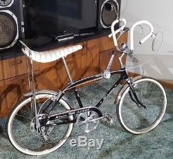 Classic Schwinn Sting Ray Fastback Ramshorn Vintage Bicycle Collectible Restored