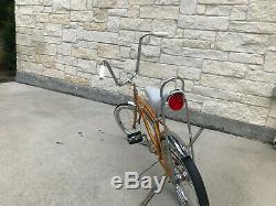 Classic Vintage 1966 Schwinn Stingray Bicycle Krate Fastback