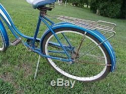 D-10, Antique, Vintage, Schwinn, Fiesta, Starlet, Cruiser, Tank Bike, Ratrod
