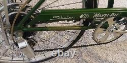 January1971 Schwinn Manta Ray 5-Speed Vintage CAMPUS GREEN NICE