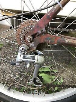 Klunker bicycle. Vintage Mountain Bike, Schwinn Excelsior. Breeze Fischer Era