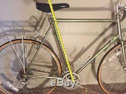MAKE OFFER Vintage Japan Schwinn 1984 Voyageur Bicycle Near Mint Unrestored Bike