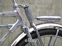 Monark T1 Vintage Schwinn Dual Spring Suspenson Bicycle Bike Fork BUILT IN USA