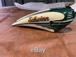 NOS 1950s Schwinn 20 Juvenile Balloon Tank original vintage spitfire rare