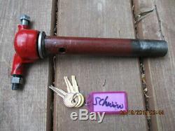 NOS Schwinn original vintage chrome springer fork complete with LOCKING steering