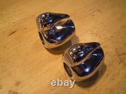NOS Vintage Bicycle Handlebar Mtd Duck Reflectors Schwinn Monark Cycletruck &&