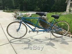 Nice Vintage Schwinn Twinn Sport 10 Speed Tandem Bicycle Refurbished/Serviced