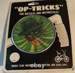 Nos Vintage Op-tricks Schwinn Tricks Banana Seat Muscle Bike 3d Green Hornet