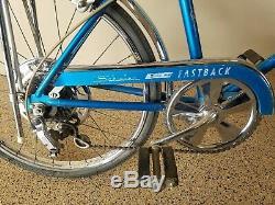 ORIGINAL OWNER-Vintage Schwinn 1971 Sky Blue Stingray Fastback Bicycle 5 Speed