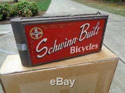 Original Schwinn Bicycle Company Vintage Dealer Sign