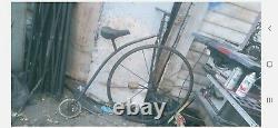 Penny Farthing 1870 old school bike vintage antique high wheel bicycle pre penny