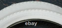 Prewar Cream White GoodYear Vintage Schwinn Bike 26x2.125 Tires Cruiser Bicycle