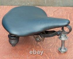 Prewar Mesinger B1 Bike SADDLE Leather Seat Vintage Schwinn Tank Cruiser Bicycle