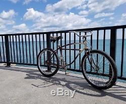 Prewar Schwinn Excelsior Autocycle cruiser Bike Bicycle Great Ride Vintage 1940
